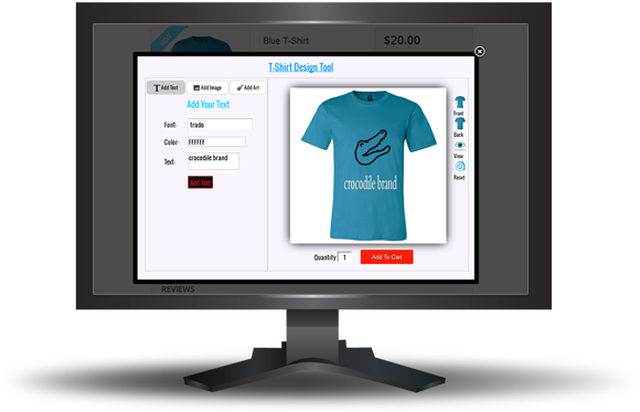 Custom  Product and T-shirt  Design for Prestashop - 11