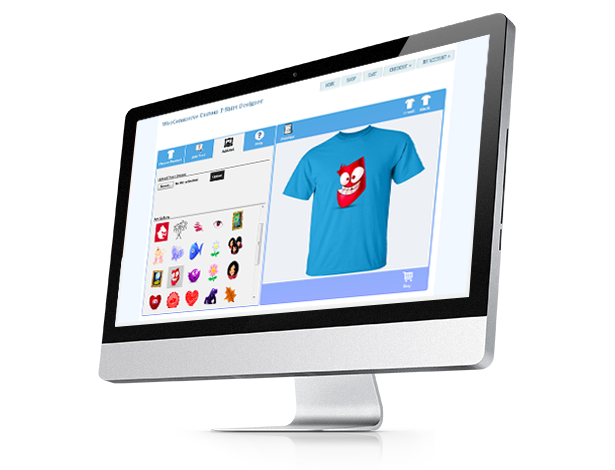 Jigoshop Custom T-Shirt and Product Designer