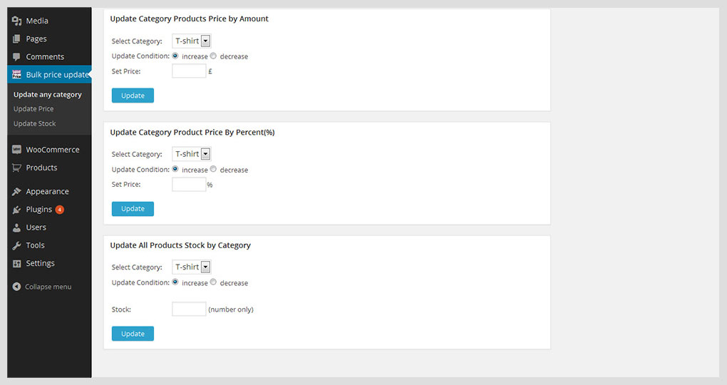 woocommerce bulk pricing