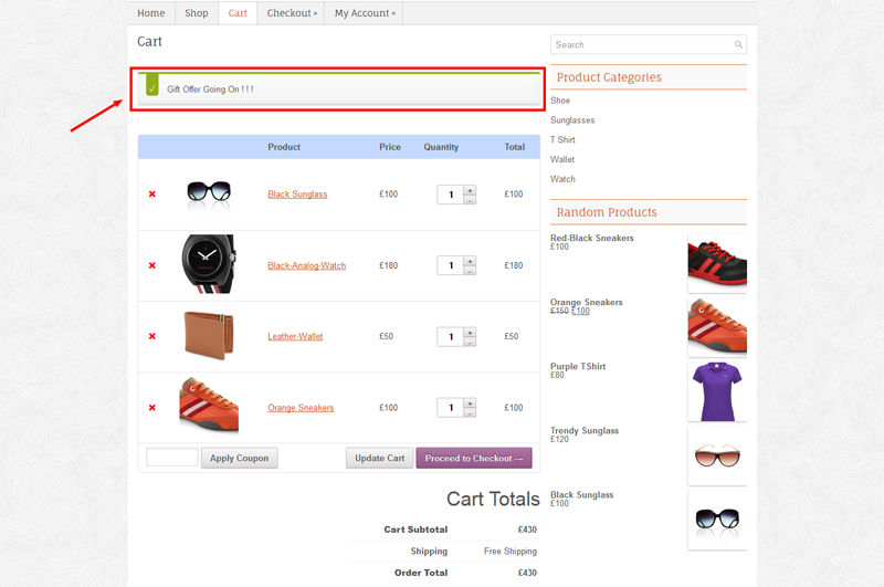 Codeinterest Woocommerce Gift Manager