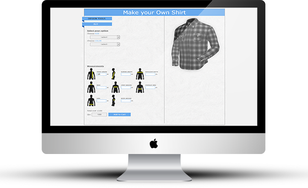 WooCommerce Tailored Shirt Online