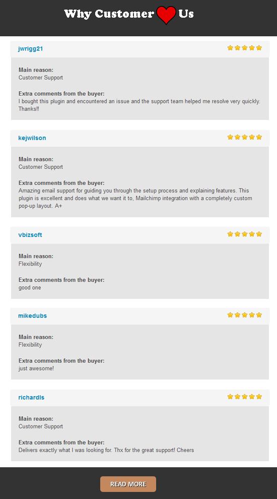 Langganan munculan khusus MailChimp untuk wordpress - 15