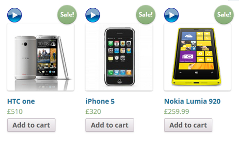 HTCone iPhone Addtocart Nokia Lumia 920 Add cart