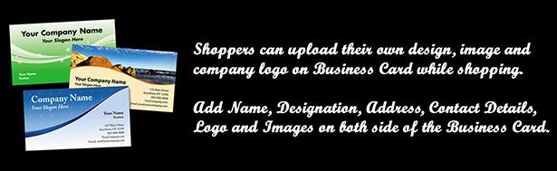 WooCommerce Business Card & Flyer Design 10