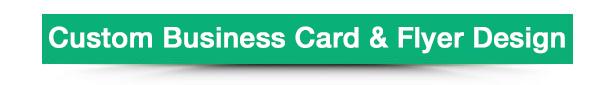 WooCommerce Business Card & Flyer Design 9