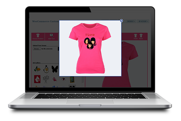 WooCommerce Custom T-Shirt Designer 24
