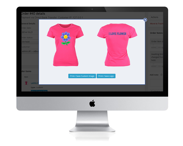 WooCommerce Custom T-Shirt Designer 26
