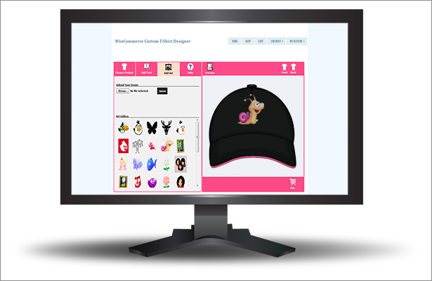 WooCommerce Custom T-Shirt Designer 28