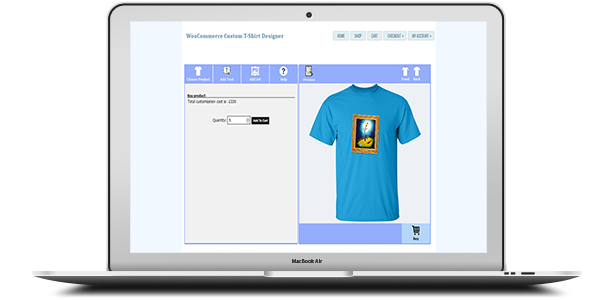 WooCommerce Custom T-Shirt Designer 14
