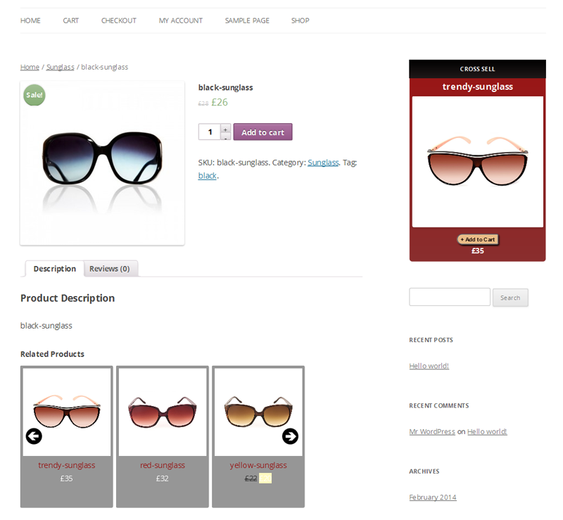 Related Products Widget for WooCommerce 7