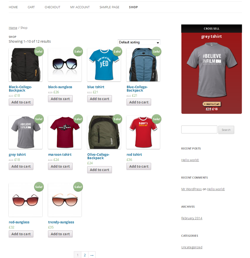 Related Products Widget for WooCommerce 6