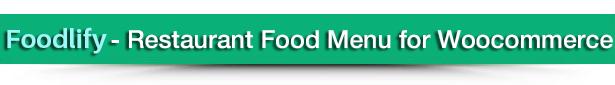 Foodify - Restaurant Food Menu for Woocommerce 9