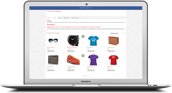 WooCommerce Gift Manager - 11