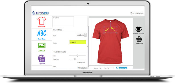 Responsive Product Designer for WooCommerce 18