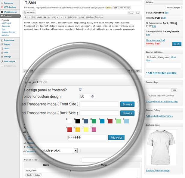 Responsive Product Designer for WooCommerce 28